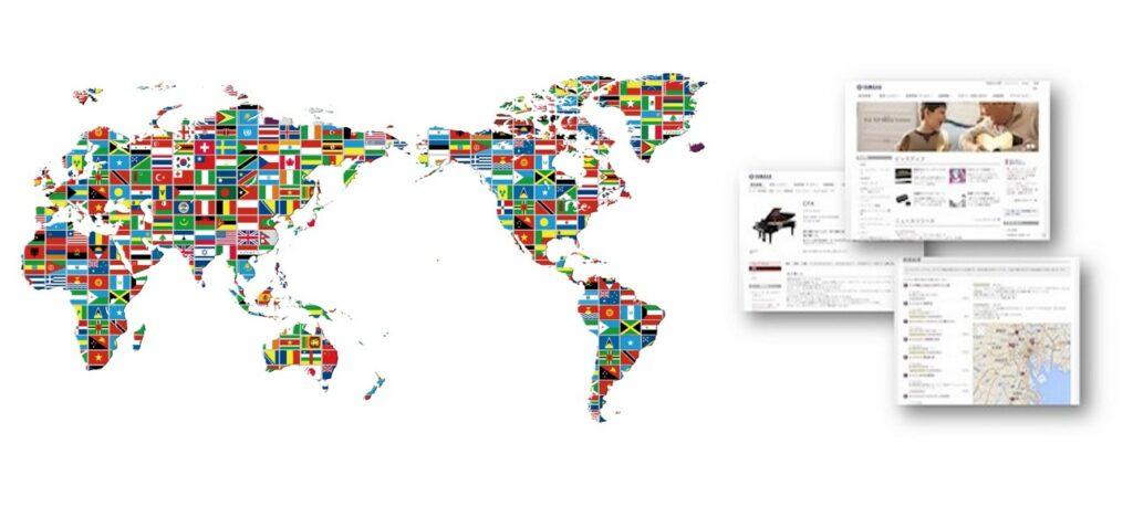 製造業・消費者向けサービスにおけるGlobal Web